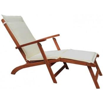 Liegestuhl mit struktur aus...