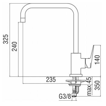 Nobili mischer Spüle Küche Herausziehbare Handbrause Blues BS101117CR