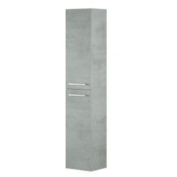 Hängesäule für Badezimmer mit 2 Türen Natürliche Farbe