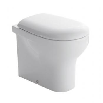 Globo Hängende Toilette 36x52 cm aus Vitreous China Grace GL-GRS02.BI