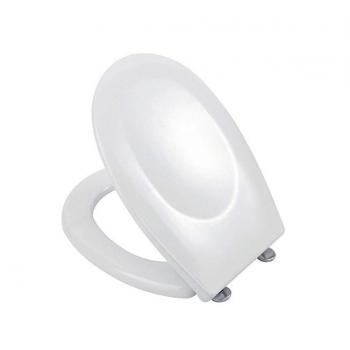 Toilettensitze King 37x45 cm glänzend weiß lackierter
