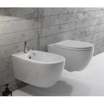 Hängende Toilette 36x54 cm aus Keramik Globo 4ALL