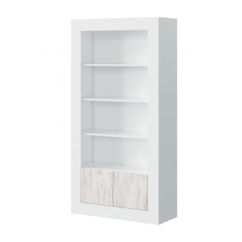 Bücherregal 181 cm Weißer...