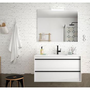 Badezimmer Badmöbel 100 cm...
