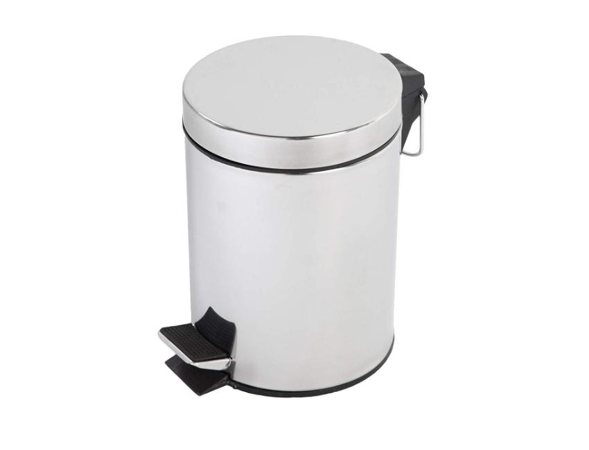 Set mit 3 Bad-Accessoires aus Keramik grau