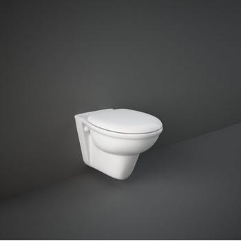 Hänge-Toilette aus Keramik...