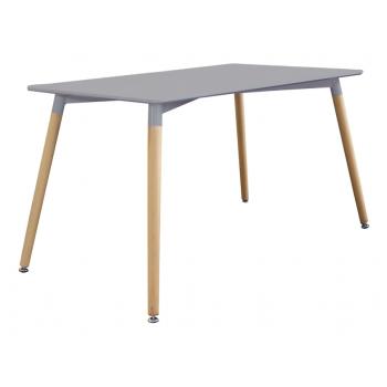 Tisch 140x80 cm Grau mit...