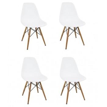 Set 4 Stühlen Berlino aus...
