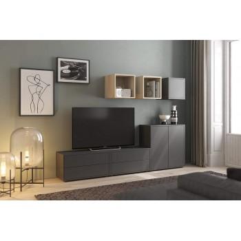 Wohnzimmer set TV-Halterung...
