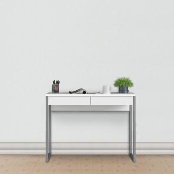 Schreibtisch 102x40 cm Weiß...