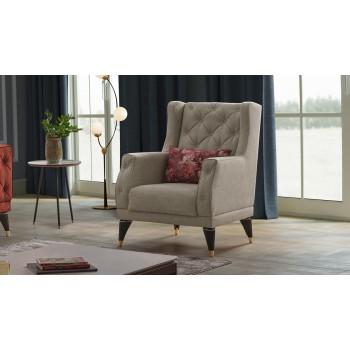 Gepolsterter Sessel 78X52...
